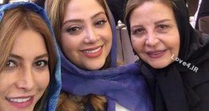 عکس بازیگران در مراسم افتتاحیه رستوران دلیجان فریبا نادری + فیلم
