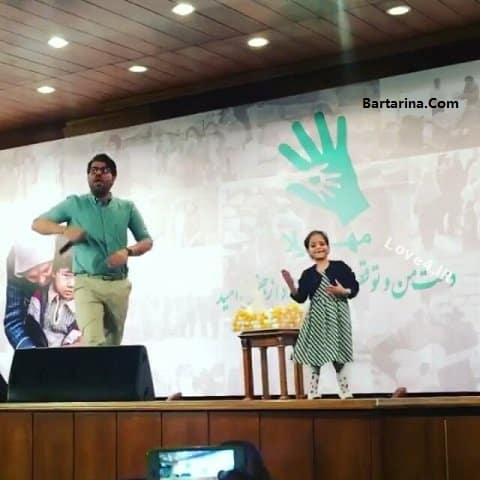 حواشی کنسرت حامد همایون رقص دختر و جواد رضویان +فیلم