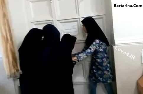 حبس دانشجویان اهوازی در خوابگاه بدون کولر برای اعتراض +فیلم