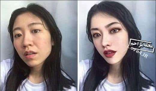 تفاوت عکس پروفایل شبکه اجتماعی با عکس واقعی