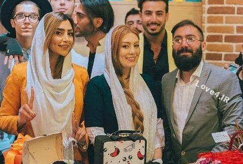 عکس های سحر قریشی و الهام عرب مدل ایرانی