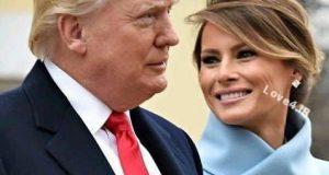 تبریک عید فطر 96 ترامپ و ملانیا ترامپ به مسلمانان ایران