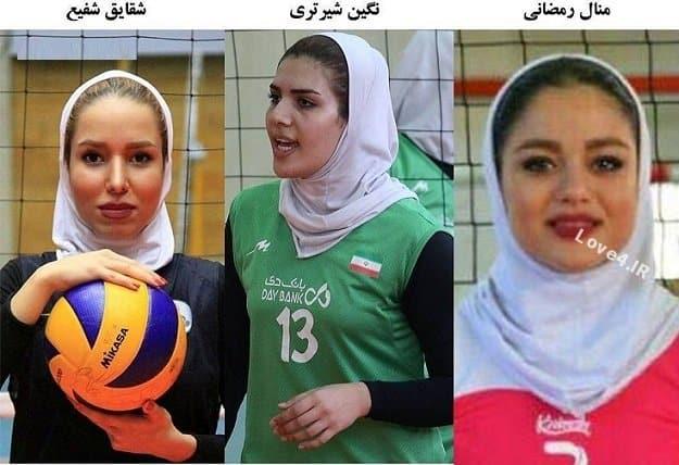 محرومیت منال رمضانی,محرومیت نگین شرتری,محرومیت شقایق شفیع,محرومیت سه والیبالیست زن,محرومیت بازیکنان والیبال زن,اخبار,ورزشی