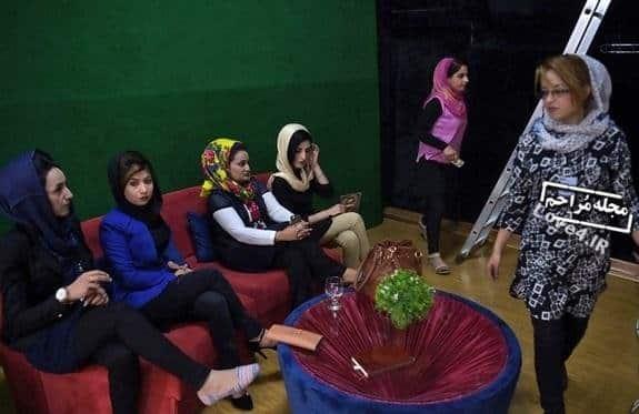 افتتاح شبکه زن تی وی در کابل +تصاویر