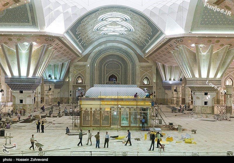 تصاویر زیبا از حرم امام خمینی (ره)