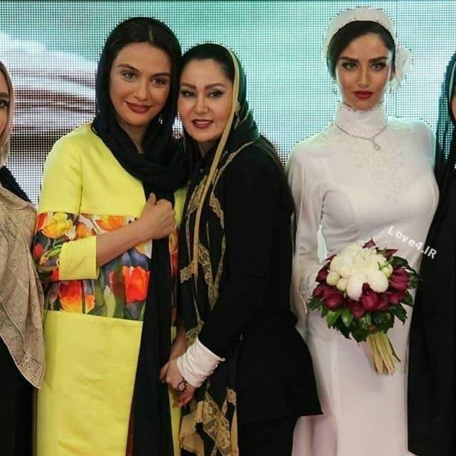 تیپ مارال فرجاد در مراسم عروسی هانیه غلامی
