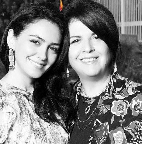 بیوگرافی نازنین بنیادی بازیگر ایرانی و مادرش |عکسهای نازنین بنیادی
