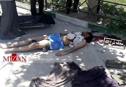 عکس جسد تروریست حرم امام خمینی