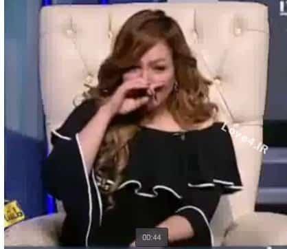 فیلم مصرف کوکائین مجری زن عرب در برنامه زنده