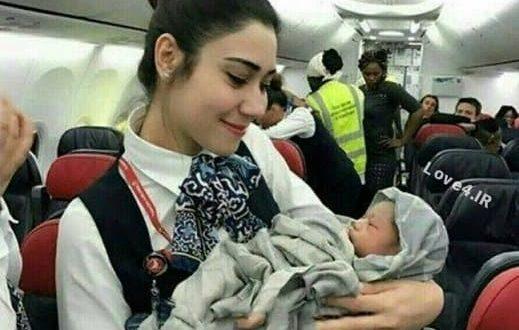 استخدام دختران ایرانی بی حجاب در ایرلاین عربی +عکس