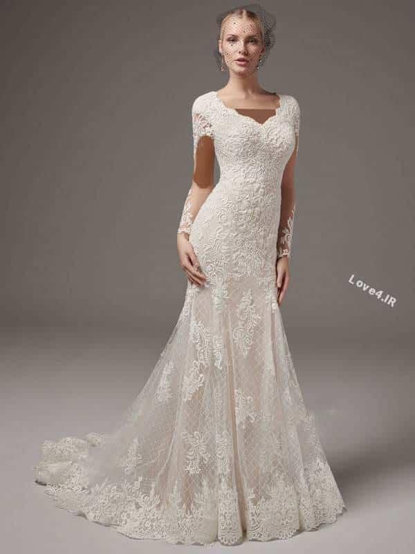 انواع مدل لباس عروس 2018 - 1397