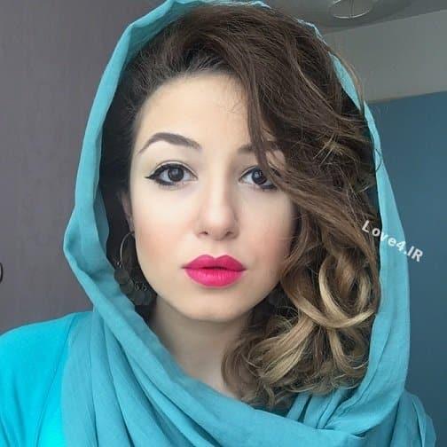 مدل شدن آوا جوهرچی |عکس های آوا جوهرچی دختر مرحوم حسن جوهرچی