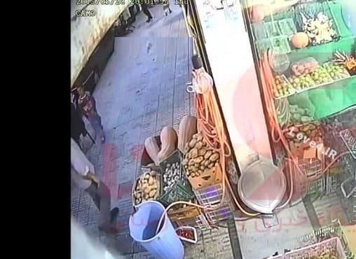 فیلم خودزنی تا دزدی از میوه فروشی اسماعیل رنگرز قاتل آتنا اصلانی