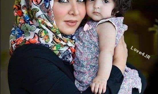 عکس اینستاگرام فقیهه سلطانی و دخترش گندم