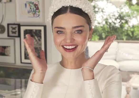 عکسهای عروسی مجدد میراندا کر مدل مشهور +مدل لباس عروس