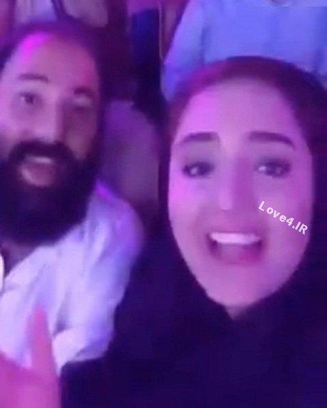 آواز خوانی و خوانندگی نرگس محمدی در کنسرت+فیلم