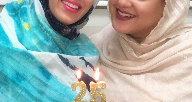 عکس اینستاگرام سوگل طهماسبی و خواهرزاده اش در جشن تولد