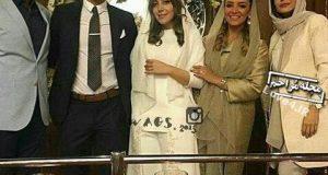 تصاویر عروسی رضا قوچان نژاد با سروین بیات خواهر ساره بیات در هلند