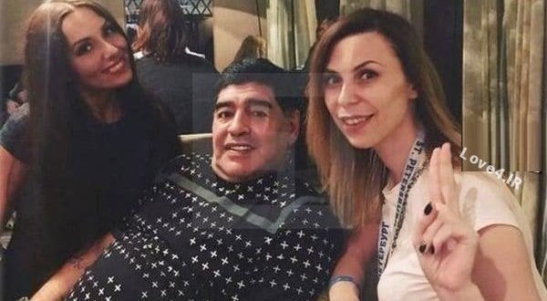 فیلم تجاوز مارادونا به یک خبرنگار زن +جزئیات