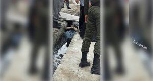 فیلم قتل و رها کردن جسد میلاد طاهری در شهرک طالقانی