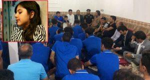 تصاویر حضور استقلالی ها در خانه آتنا اصلانی