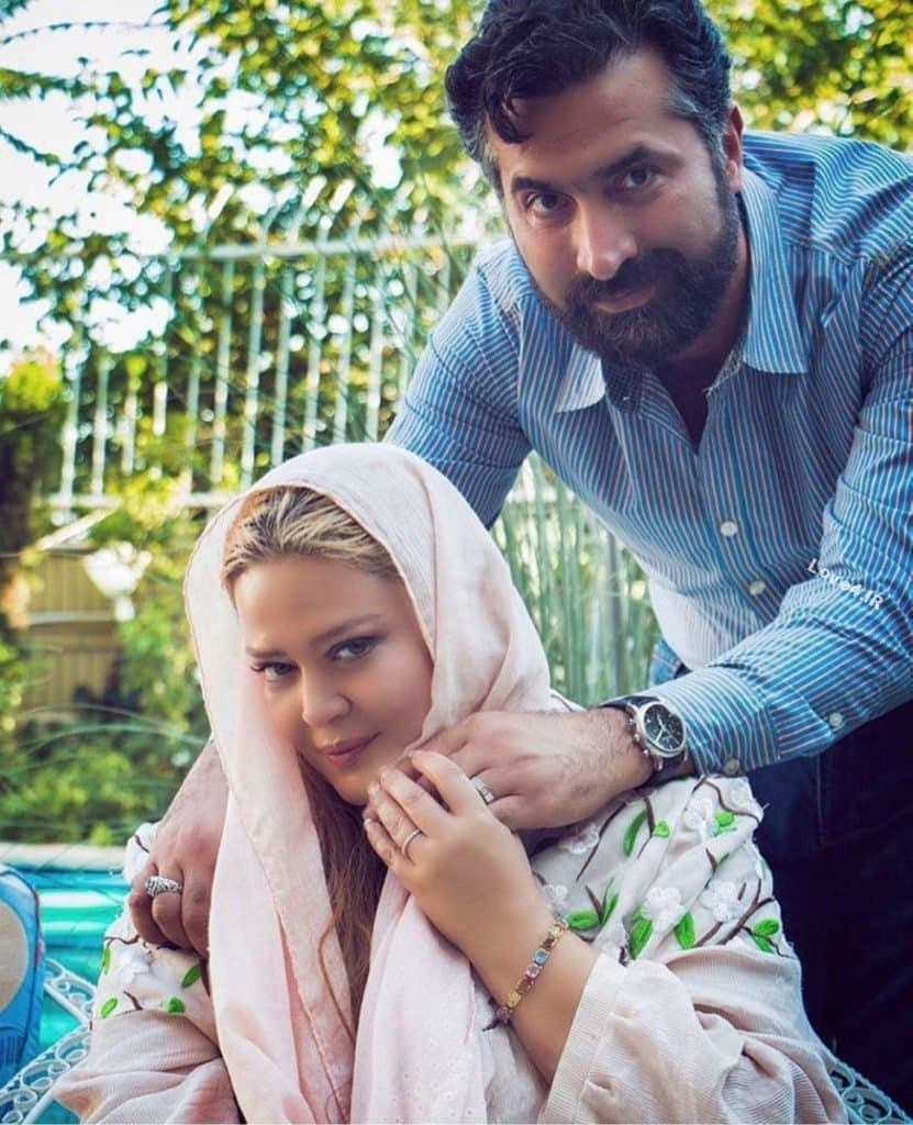 عکس دیده نشده بهاره رهنما و همسر دومش بعد از ازدواجشان
