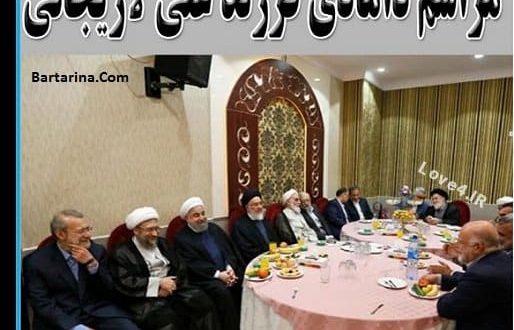 حضور چهره های سیاسی در عروسی پسر علی لاریجانی رئیس مجلس