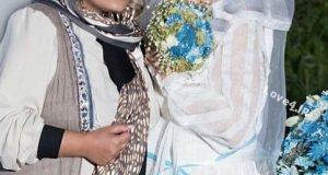 حجاب آزاده نامداری در مراسم عروسی بهاره رهنما