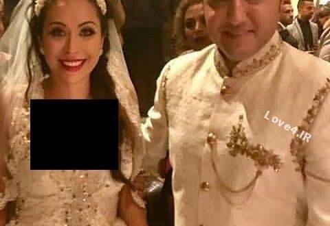 جشن عروسی حامد نیک پی و همسرش افسانه +فیلم