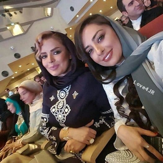 تیپ بازیگران زن ایرانی در جشن حافظ