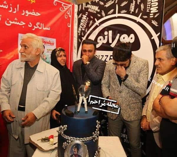 عکس های جشن تولد مرتضی پاشایی با حضور بازیگران ۹۶