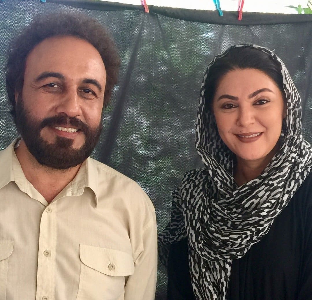 گریم لاله اسکندری و رضا عطاران در فیلم سینمایی هزارپا