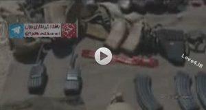 فیلم به هلاکت رسیدن تروریستها در آذربایجانغربی توسط سپاه پاسداران