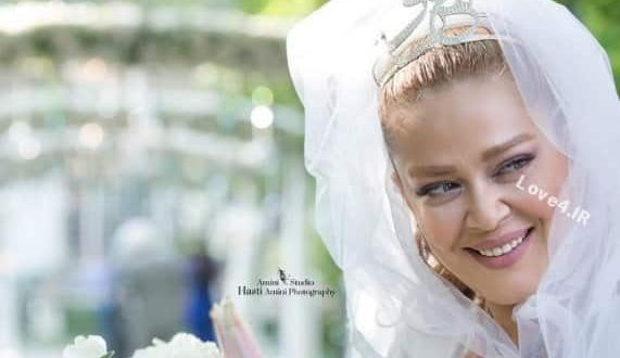 عکس بهاره رهنما در روز عروسی دومش | آرایشگر و طراح لباس بهاره رهنما