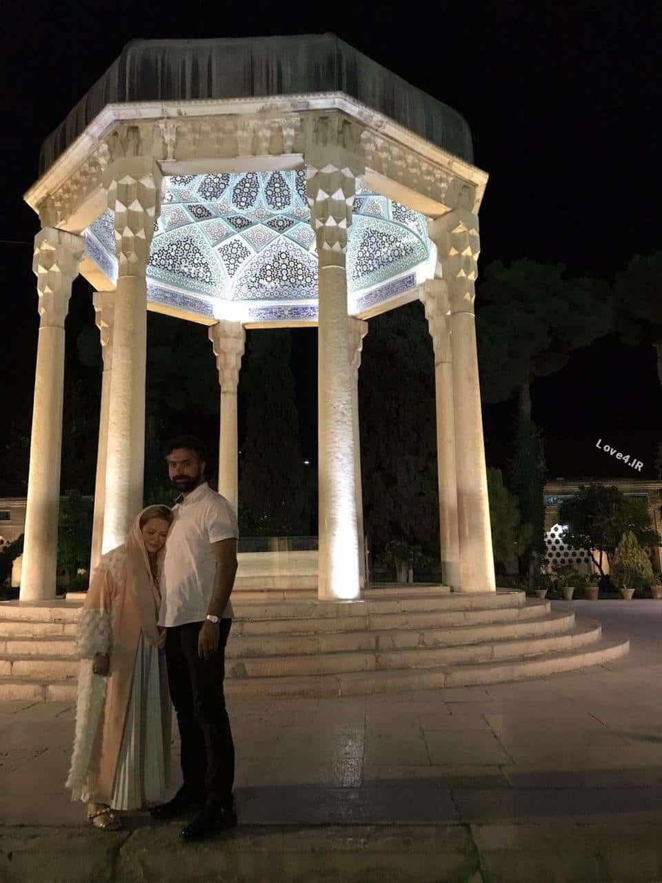 عکس بهاره رهنما و همسر در ماه عسل
