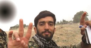 عکسهای شهید حججی که تا کنون ندیده اید! |عکس محسن حججی در سوریه