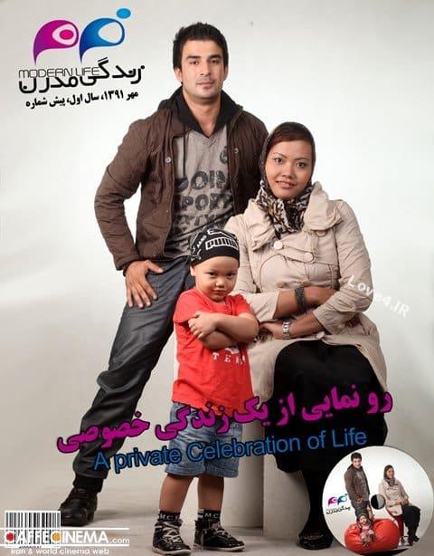 بیوگرافی یوسف تیموری و همسر تایلندی و پسر دو رگه اش + عکس خانوادگی