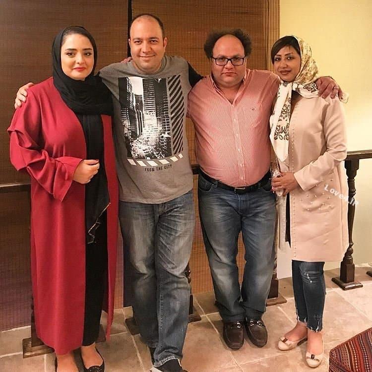 عکس اینستاگرام نرگس محمدی و همسرش