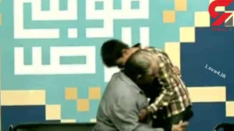 ادای احترام ایرج نوذری حدیث فولادوند و حسام نواب صفوی مقابل فرزند شهید مدافع حرم +فیلم