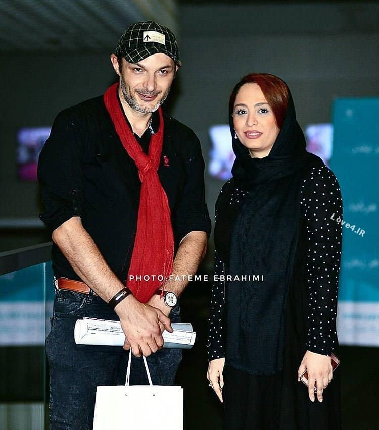 عکس اینستاگرام رامین پرچمی و همسرش
