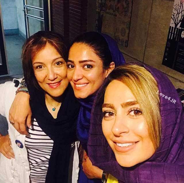 تیپ خانم بازیگر در کنار هم | مدل لباس سمانه پاکدل