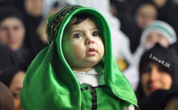 عکس های شیر خوارگان حسینی ،مدل لباس شیرخوارگان حسینی