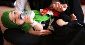 مراسم شیرخوارگان حسینی مرکز طبی کودکان