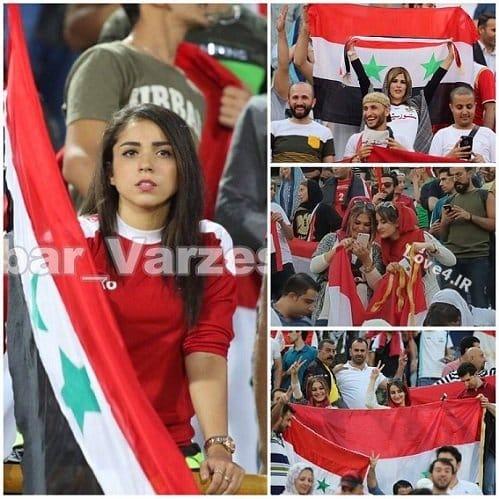 زنان بی حجاب سوری در آزادی,زنان بی حجاب در آزادی,زنان بی حجاب,زنان بی حجاب سوریه در ورزشگاه,دانلود,دانلود فیلم