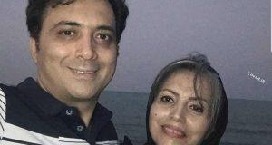 عکس خانوادگی مجید اخشابی | سلفی مجید اخشابی همراه خواهرش