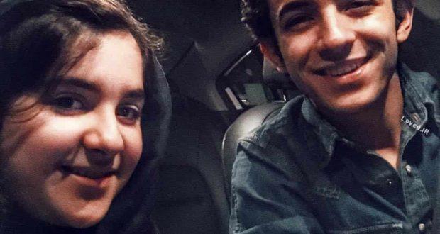 عکس اینستاگرام علی شادمان همراه خواهرش