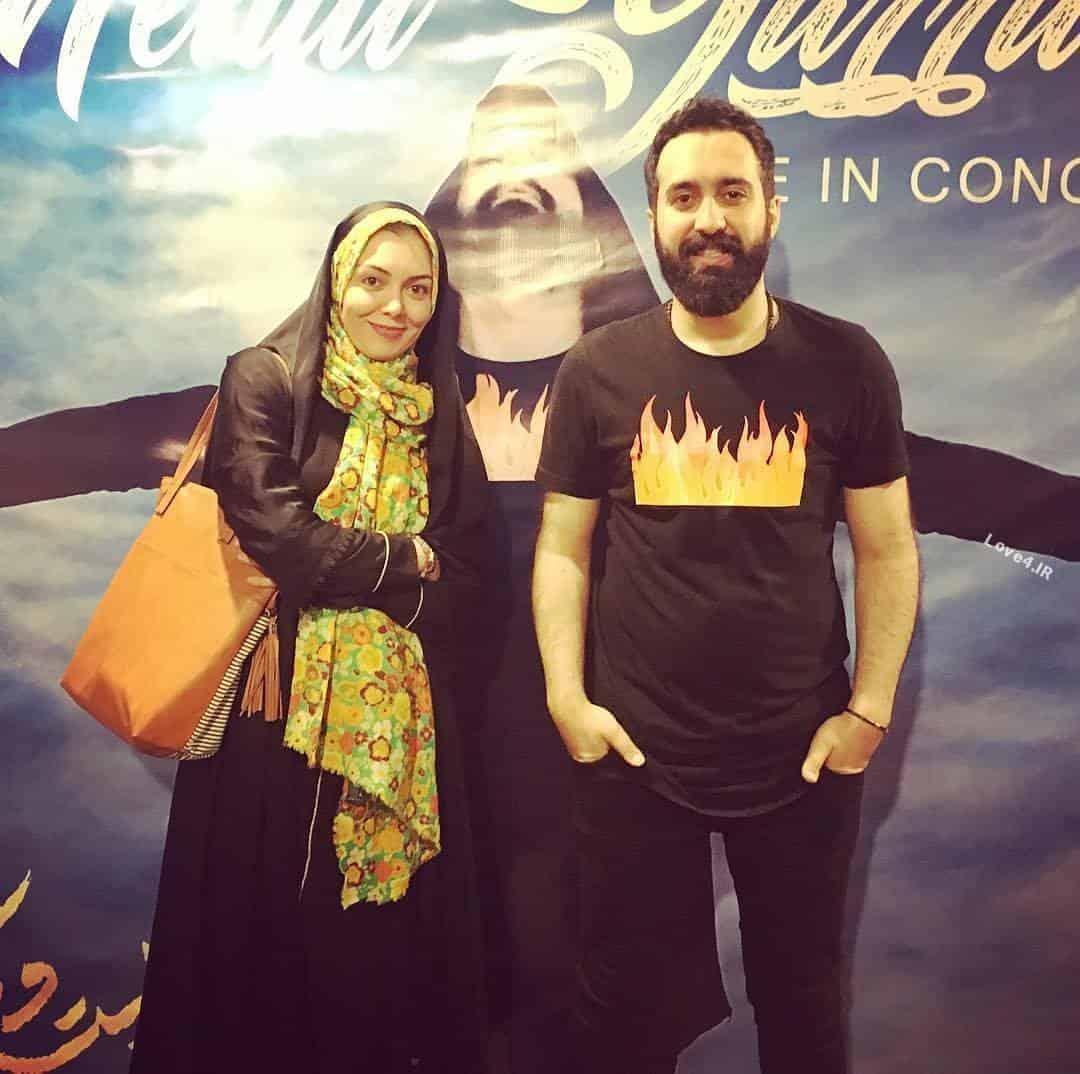 عکس آزاده نامداری در کنسرت یراحی بعد از بازگشت از سویس