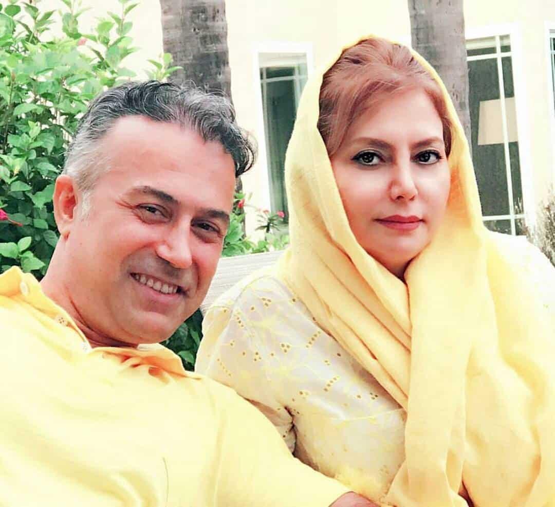 سلفی دانیال حکیمی همراه همسرش +اینستاگرام