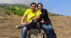 خوشگذرانی الیکا عبدالرزاقی و برادرش