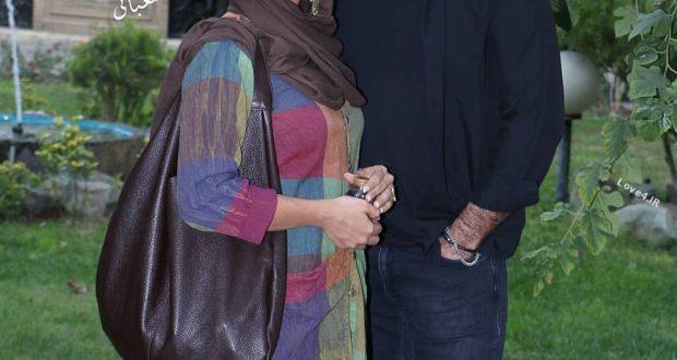 عکس اینستاگرام حدیثه تهرانی و همسرش